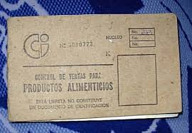 Cuban rationbook